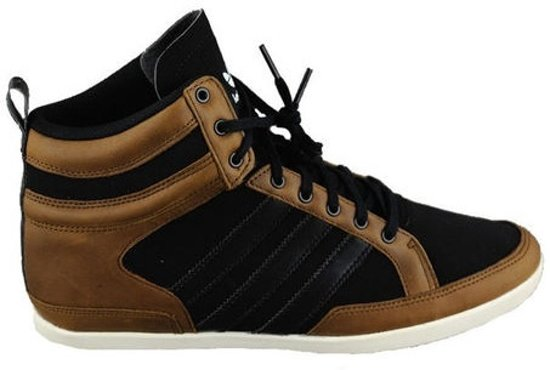 31906c6d93f bol.com   Adidas Heren Sneakers Bruin/zwart Maat 44