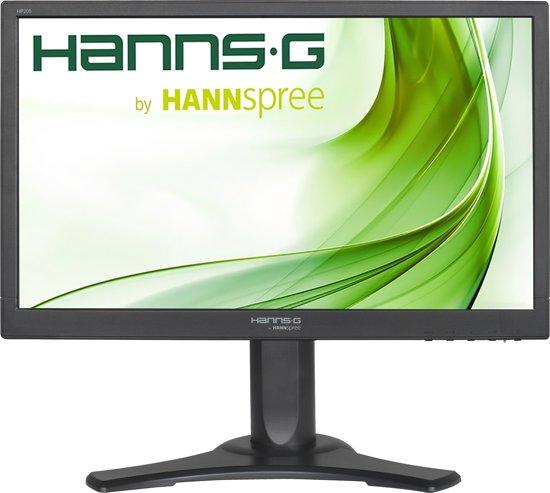 """Hannspree Hanns.G HP205DJB 19.5"""" Zwart HD ready Matt LED display"""