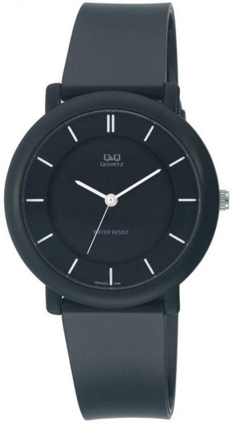 Mooi horloge zwart silicone-VQ94J003Y