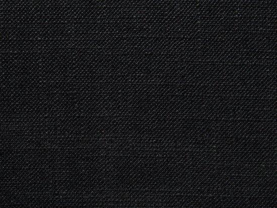 Beliani 3-Zits bank gestoffeerd zwart KUOPIO