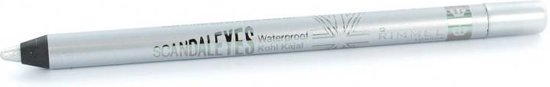 Rimmel Scandal'Eyes Waterproof - 10 Silver - Zilver - Oogpotlood