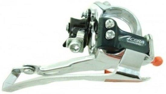 Shimano Acera (fd-m330) Voorderailleur 7/8 Speed Zilver