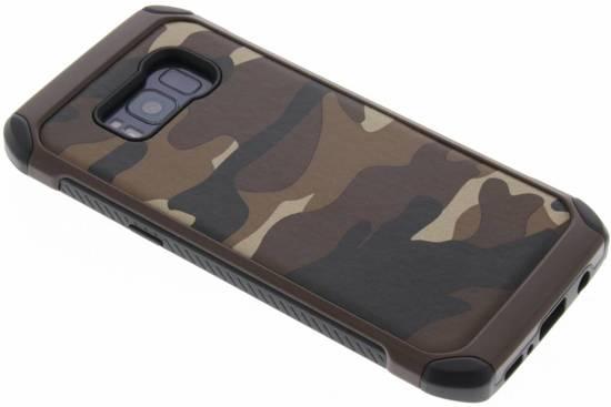 Brun Défenseur De L'armée Couverture Étui Rigide Pour Samsung Galaxy S8 4x13Pr4KOg