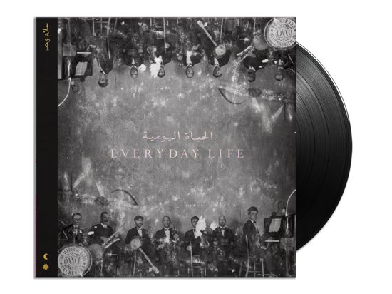 CD cover van Everyday Life (2LP) van Coldplay