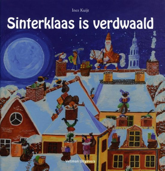 Sinterklaas is verdwaald