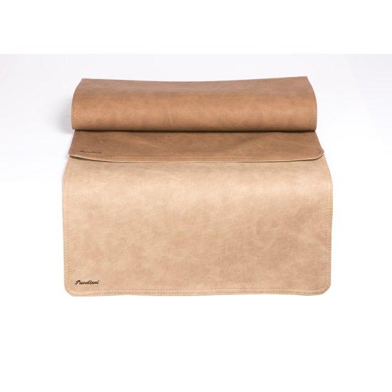 Pavelinni tafelloper Vintage 45x120cm Beige/Light Brown
