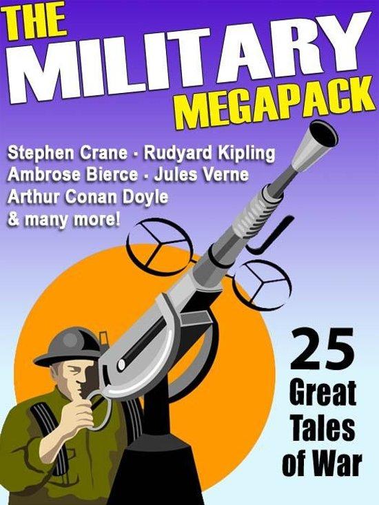 Boek cover The Military Megapack van Lester Del Rey (Onbekend)