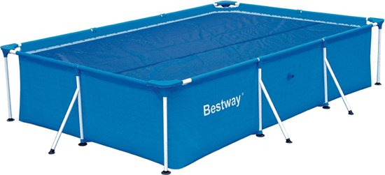 Bestway solar pool cover zwembad afdekzeil for Zwembad afdekzeil