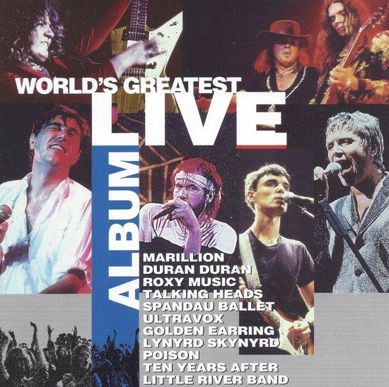 WORLD'S GREATEST LIVE ALBUM    2CD