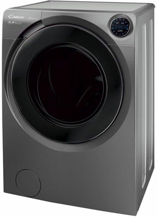 Candy BWM 1410PH7R/1-S wasmachine Vrijstaand Voorbelading Antraciet 10 kg 1400 RPM A+++-40%
