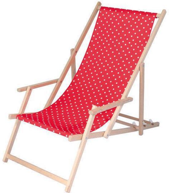 Houten Strandstoel Met Armleuning.Bol Com Tri Colore Design Tuinstoel Strandstoel Acaciahout