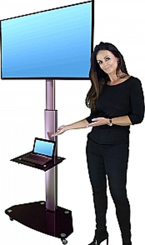 Stralex verrijdbare TV standaard hoog (120-180cm.)
