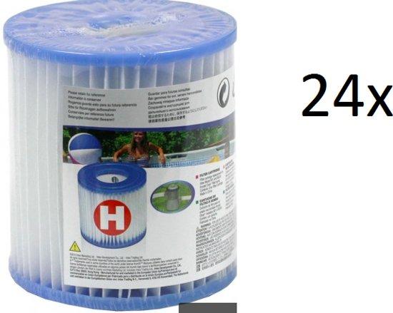 Intex H filter cartridge 24 pack