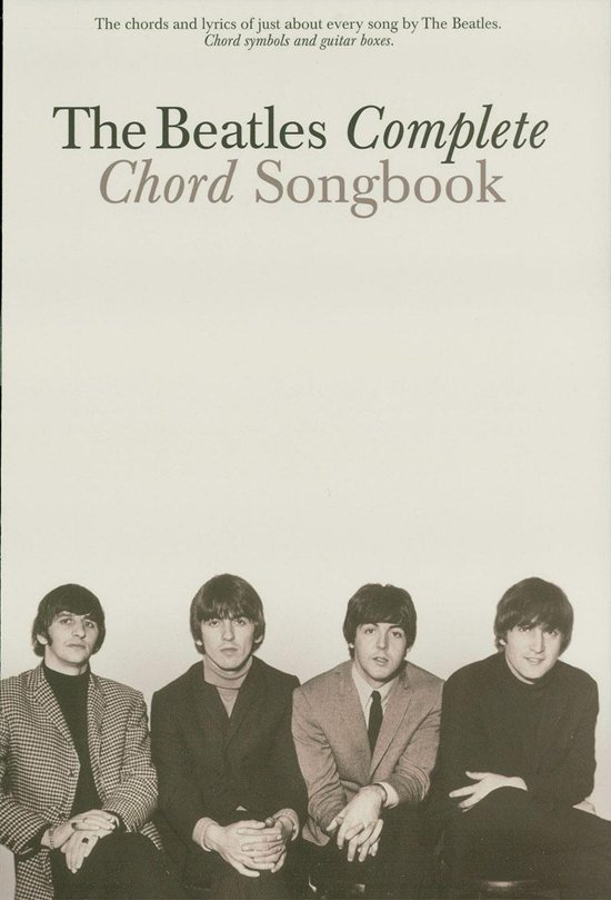 Bol The Beatles Complete Chord Songbook Ebook The Beatles