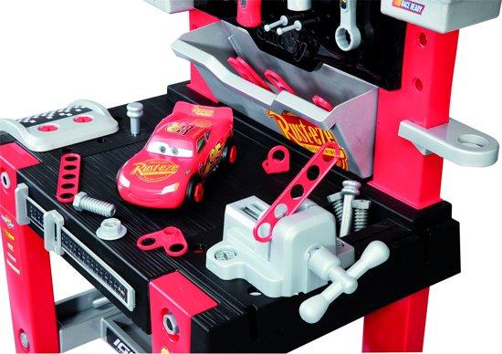 bol.com | Smoby Cars Bricolo werkbank, SMOBY | Speelgoed