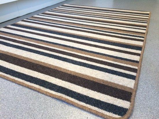 Wollen vloerkleed van hoge kwaliteit - Klassiek en past in elk interieur - Natura 160x230cm
