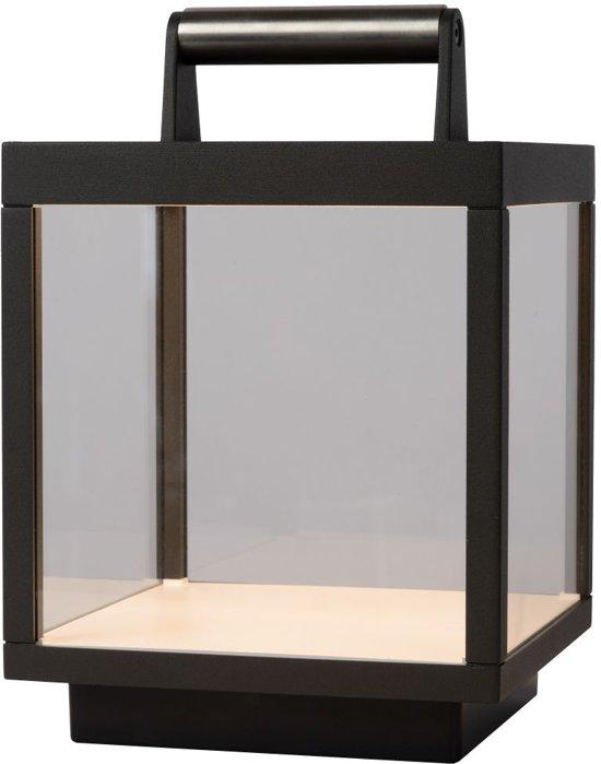 Lucide CLAIRETTE - Tafellamp Buiten - LED Dimb. - 1x5W 3000K - IP54 - Antraciet
