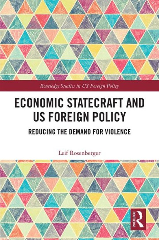 Economic Statecraft and US Foreign Policy