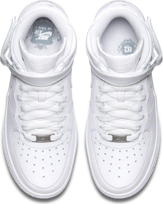 Nike Air Force 1 Mid GS Sneakers Wit Kinderen Maat
