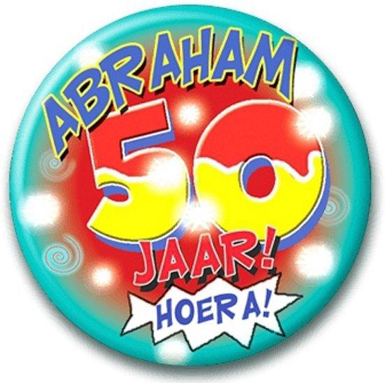 afbeelding abraham 50 jaar bol.| Button Abraham 50 jaar, Merkloos | Speelgoed afbeelding abraham 50 jaar