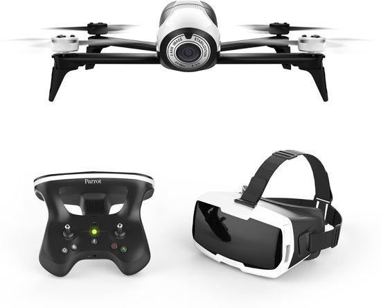 Parrot Bebop Drone 2 + controller + FPV bril - wit
