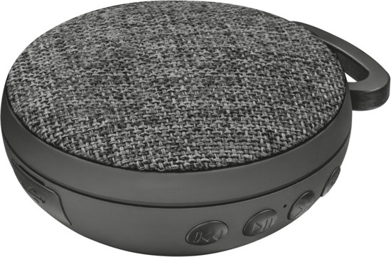 Trust Fyber Go Bluetooth Wireless Speaker Zwart