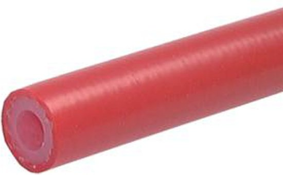Universele siliconen gasslang 8 mm  (ID) 50 m - HL-S-RED-8x15-50