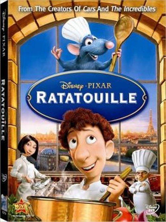 DVD cover van Ratatouille