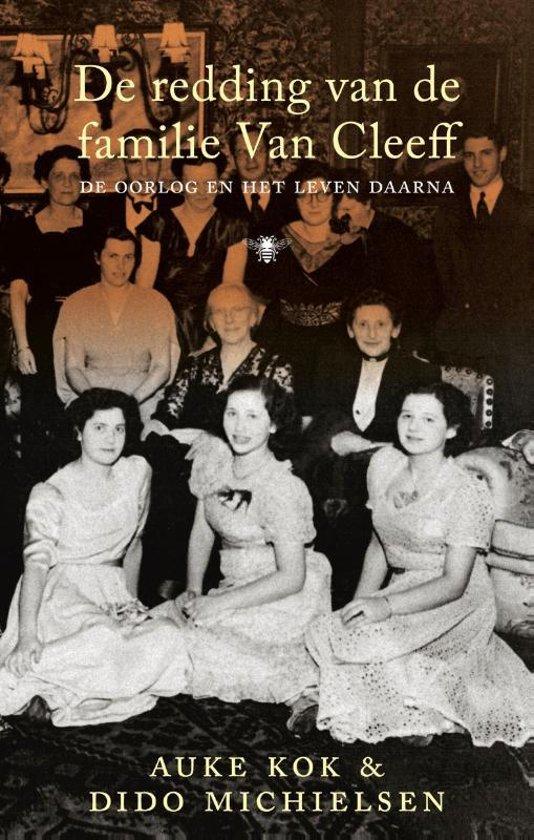 Boek cover De redding van de familie Van Cleeff van Auke Kok (Onbekend)