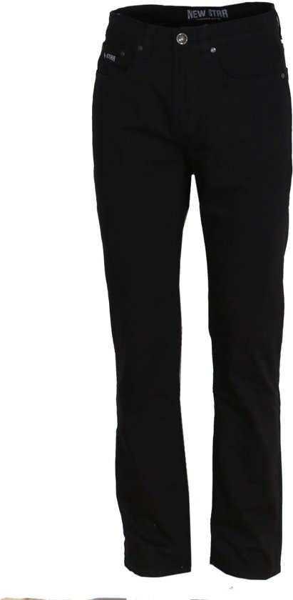 Werkjeans New Star JACKSONVILLE Stretch Jeans ZwartW36/L30