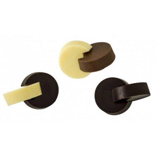 Chocolade mal 3D ringen - Decora