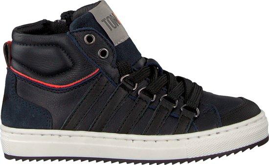 TON & TON Jongens Sneakers Vancouver 1 - Blauw - Maat 31