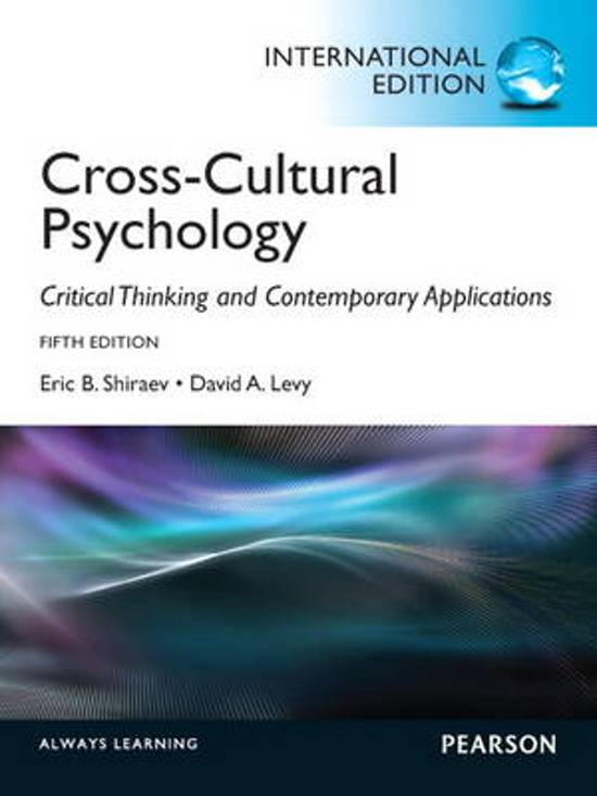 importance of critical thinking in cross-cultural psychology Buy cross-cultural psychology: critical thinking and contemporary applications, sixth edition: read 12 kindle store reviews - amazoncom.