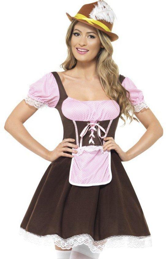 f56d431ab2251f bol.com | Tirools jurkje bruin roze maat 40/42 - Korte Oktoberfest ...