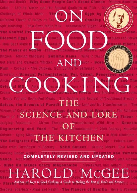 Boek cover On Food and Cooking van Harold McGee (Onbekend)