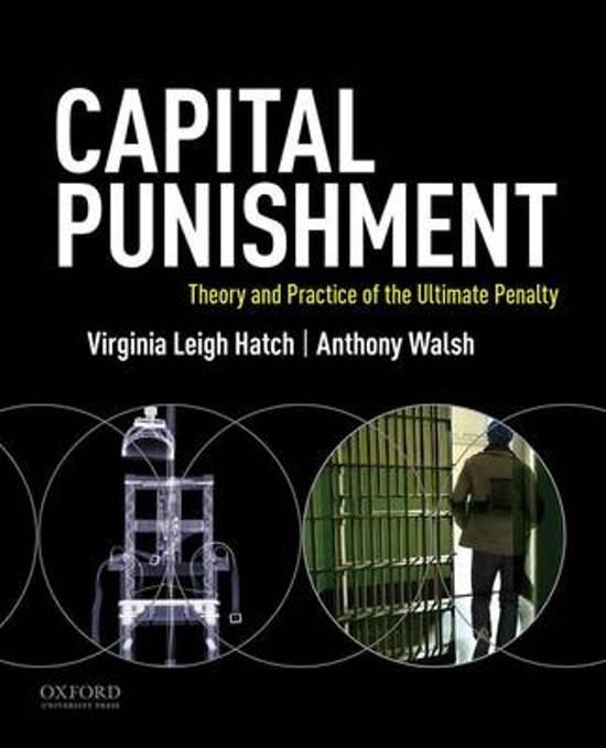 issue of capital punishment