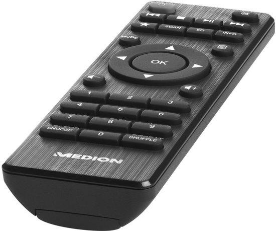 MEDION® LIFE P85135 WiFi DAB+ Internet Radio (Rood)