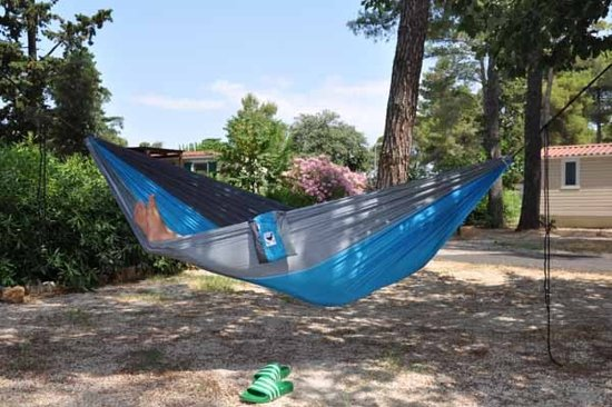 MoreThanHip Family Hangmat - Turquoise