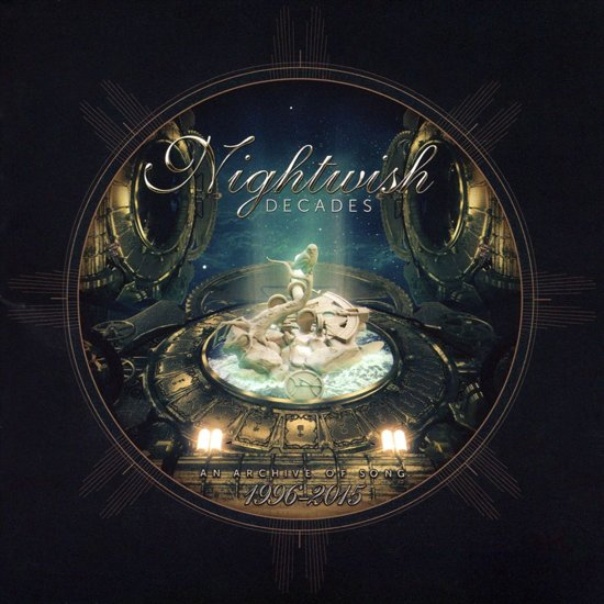 CD cover van Decades van Nightwish