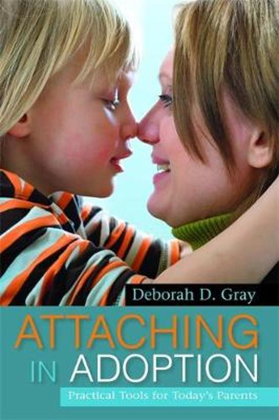 Boek cover Attaching in Adoption van Deborah D. Gray (Paperback)
