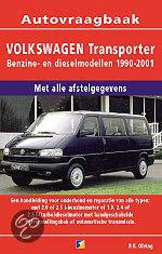 Autovraagbaken - Vraagbaak Volkswagen Transporter Benzine en dieselmodellen 1990-2001