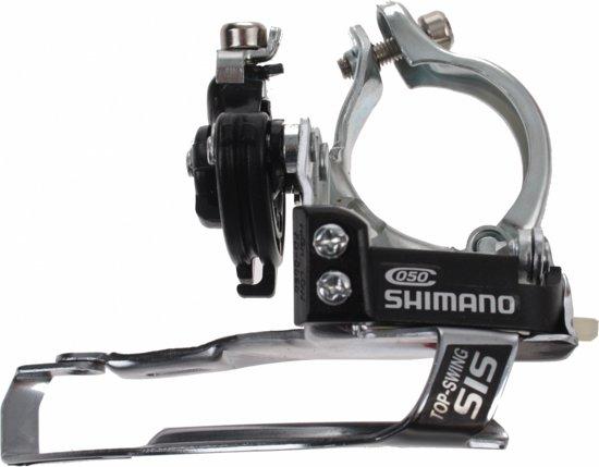 Shimano Voorderailleur Fd-c050 Dual Pull Zilver/zwart
