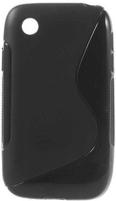 Comutter Silicone case hoesje LG L40 zwart