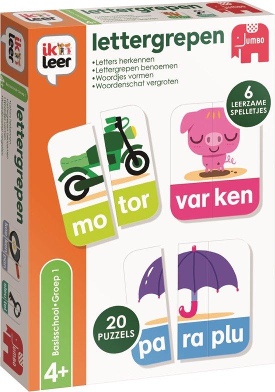 Afbeelding van het spel Ik Leer Lettergrepen - Educatief Spel