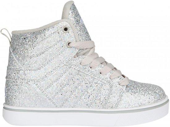 Heelys Uptown 5 Rolschoenen glitter Kinderen Zilver DiscoSneakers Maat 40 3L4j5AR