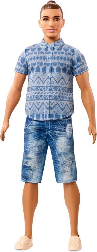 Barbie Ken Fashionistas Distressed Denim - Barbiepop