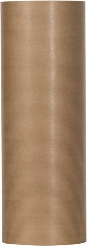 Kraftpapier op rol 50 cm x 400 meter / Bruin inpakpapier 50 grams kraft papier