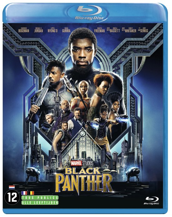 DVD cover van Black Panther (Blu-ray)