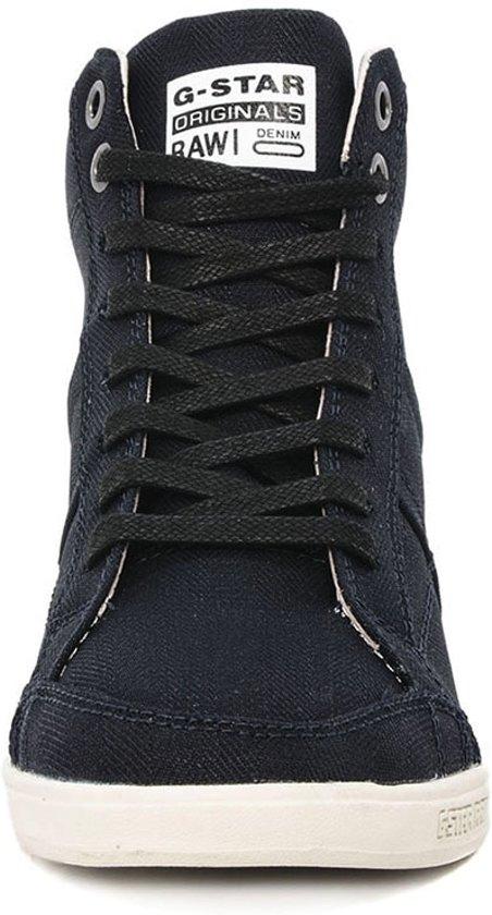 | G Star Yield Wedge Mono Blauwe Dames Sneakers Maat 38