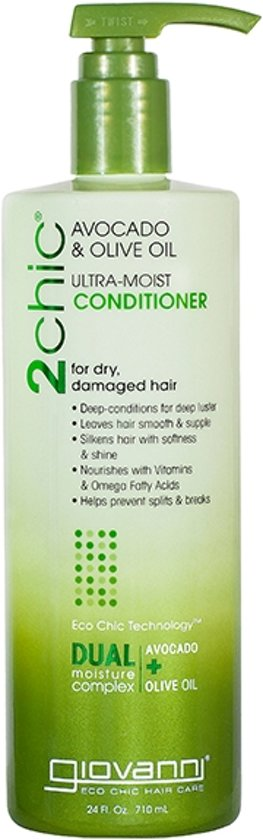 Giovanni Cosmetics 2chic - Ultra-Moist Conditioner with Avocado & Olive Oil 710 ml